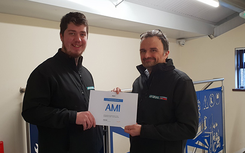 UK Manufacturing Apprentice Winner 2018