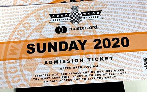 Goodwood Festival of Speed Prize Draw
